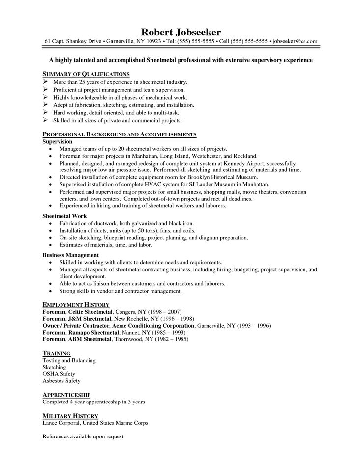 Best 25+ Cover sheet for resume ideas on Pinterest Cv skills - asbestos worker sample resume