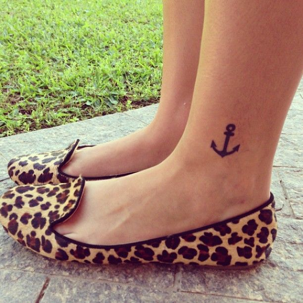 Anchor tattoo #cute #tattoo going to have this when older