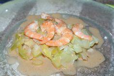 Crevettes aux Poireaux au Micro Vap (3.8pts) - Tupperware