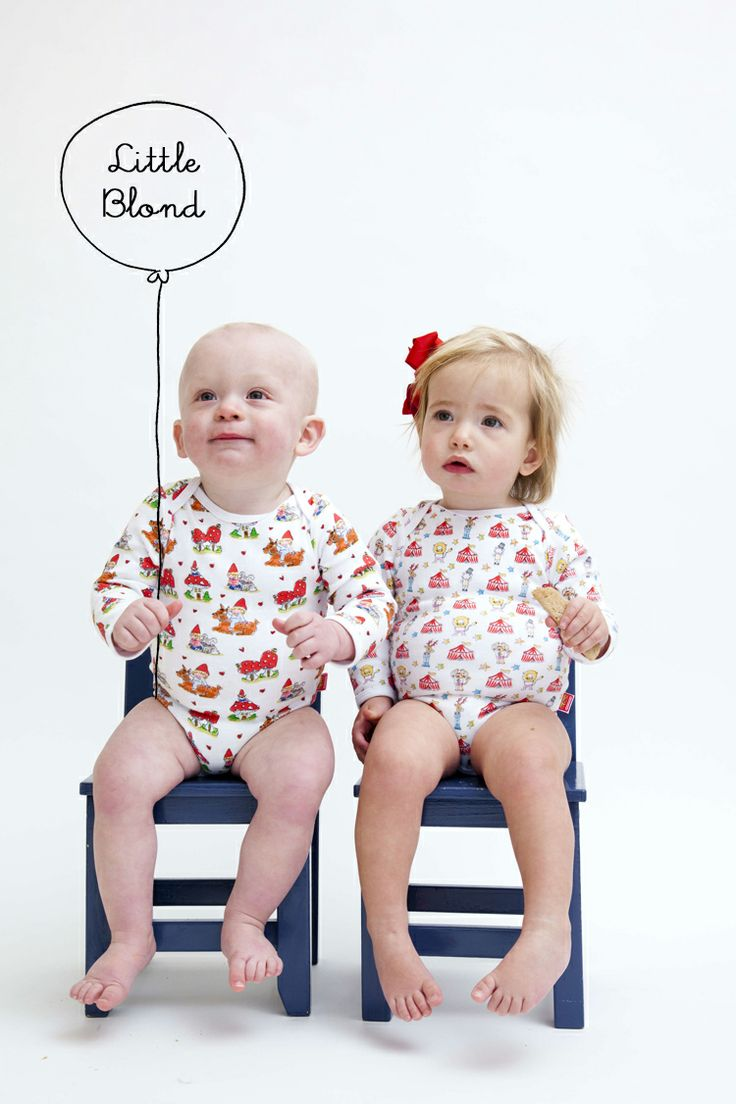 A complete new cute line for boys and girls (0-3 years) by Blond-Amsterdam