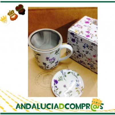 Para los amantes del té y de las infusiones, la Cabeza de la Sultana nos da ideas para regalar, como esta Taza de porcelana con tapa. Traen incorporado filtro de acero inoxidable.  Tienen 300 cl de capacidad y se presentan en caja regalo. Entra ya en su web de Andalucía de compras y conoce su oferta de productos; https://www.andaluciadecompras.es/portal/web/la-cabeza-de-la-sultana