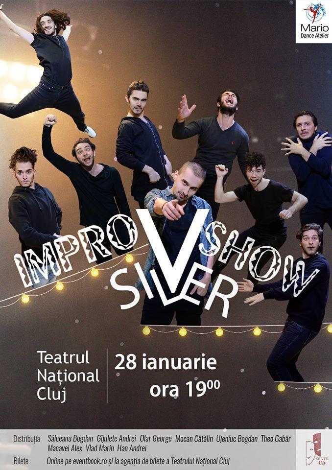 CONCURS clujescu.ro. Nu rataţi şansa de a câştiga bilete la spectacolul ImproVshow cu trupa Silver!