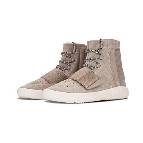 Oferta: 70€. Comprar Ofertas de Yeezy Boost 750luz Brown Colorway con acentos de color blanco zapatos de tacón, hombre, brown/light brown, 44EU barato. ¡Mira las ofertas!