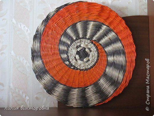 Поделка изделие Плетение Новенькое Трубочки бумажные фото 16