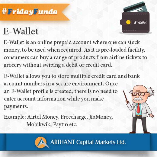 #FridayFunda #E-Wallet