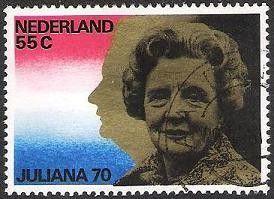 Juliana 70 jaar.
