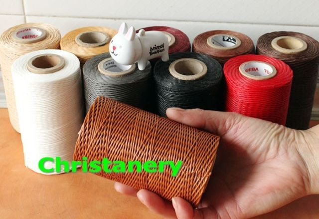 Strong Leather Sewing Thread For Leather Hand Stitching 180g 500 yards