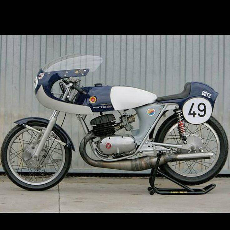 Montesa Blitz 250 #montesa #blitz #caferacer #racer #2stroke