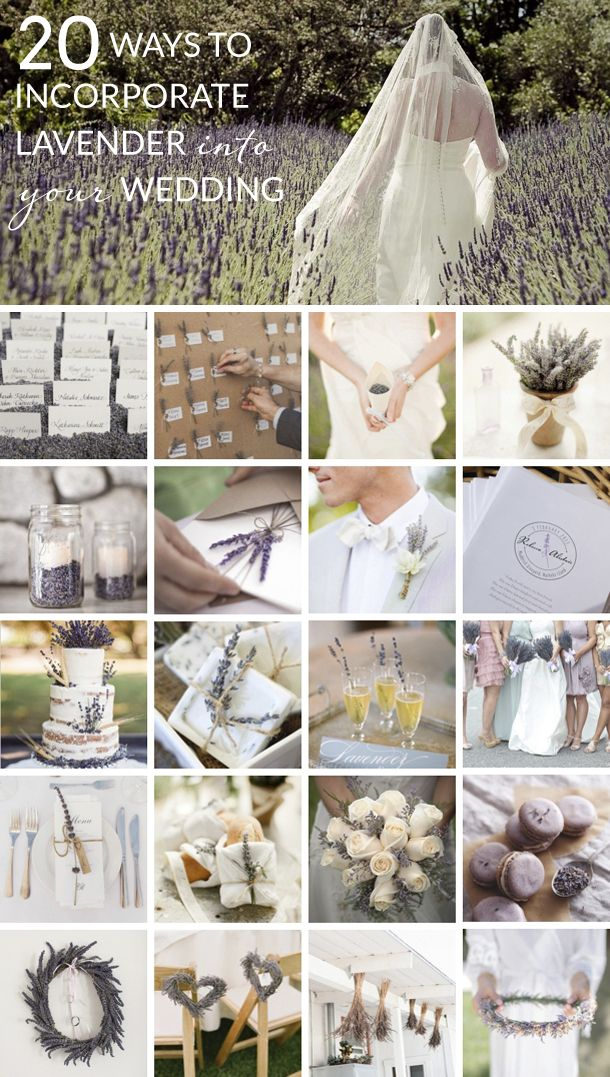 20 lovely lavender wedding ideas   SouthBound Bride   Full credits & links: http://www.southboundbride.com/20-ways-to-incorporate-lavender-into-your-wedding