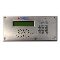 Toughest door station on the market.  VoIP unit can be installed in architectural designed buildings as a entrance station to screen visitors at a gate or doorway.