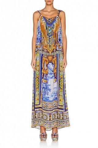 Road to Seville Drawstring Dress