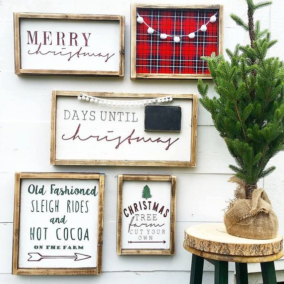 Christmas Sign Decorations: Best 25+ Merry Christmas Signs Ideas On Pinterest