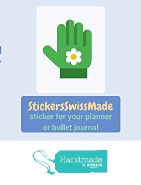 StickersSwissMade @Amazon Handmade Germany || PLANNER STICKER || garden gloves || gardening || small colored icon | for your planner or bullet journal von der StickersSwissMade https://www.amazon.de/dp/B0722YKHV7/ref=hnd_sw_r_pi_dp_3Flfzb24BCSAX #handmadeatamazon