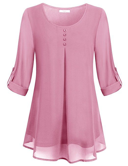 b37743a170c Cestyle Chiffon Tops for Women