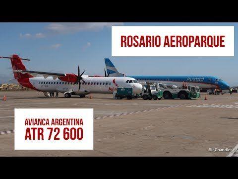 Vuelo Avianca Argentina de Rosario a Aeroparque - YouTube