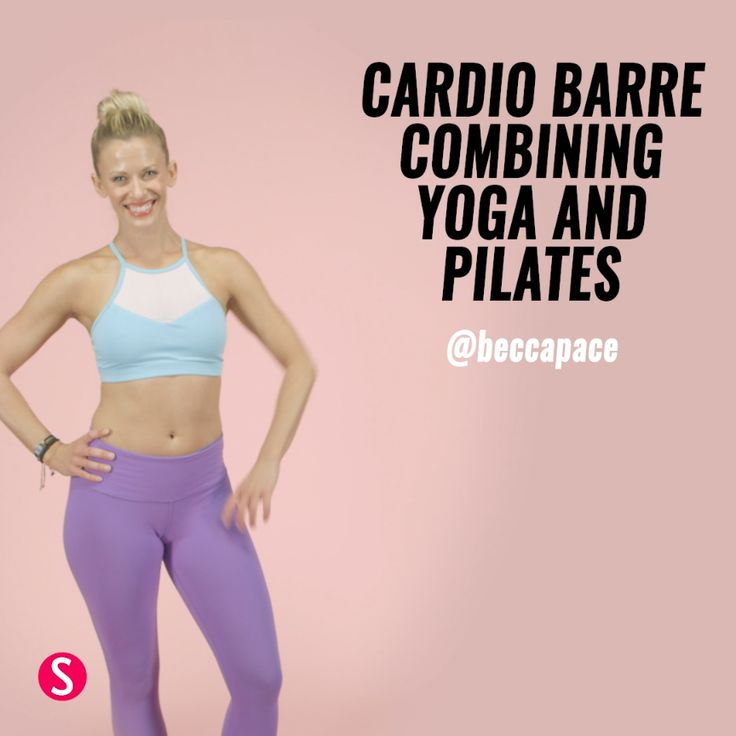 The Barre Workout That Combines Yoga, Pilates, and Cardio