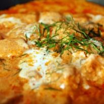 Badami Lamb Korma: #Lamb #korma with a rich gravy of cream, almond paste, yogurt and spices.