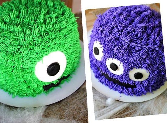 MONSTER CAKES: cute theme for a baby shower or first birthday!