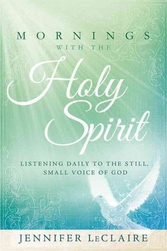 MORNINGS WITH THE HOLY SPIRIT - NEW HARDCOVER BOOK