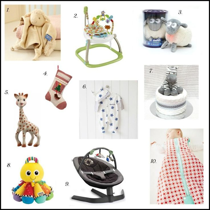 New baby Christmas gifts
