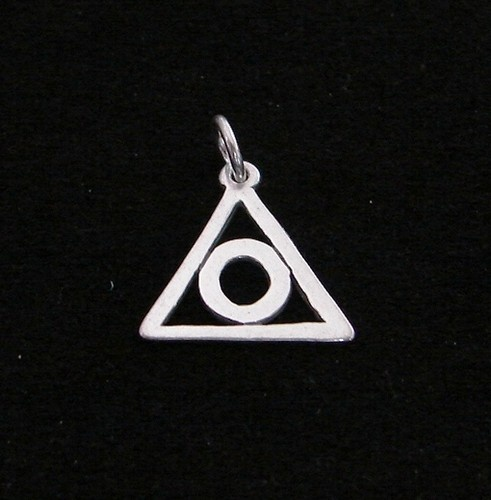 Sterling Silver Family Recovery Al Anon Symbol 9 16 Pendant 12 Step