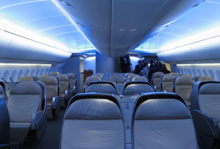 InteriorBoeing747-8_Intercontinental main deck #aviation