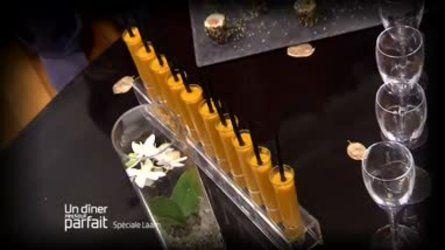 Velouté de potimarron au foie gras
