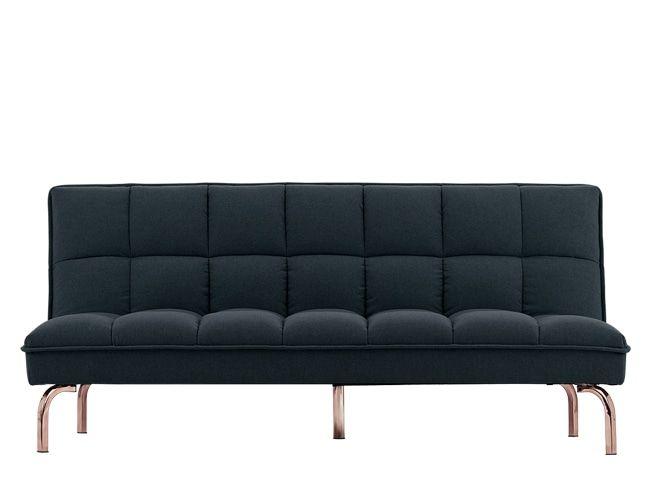 Hallie Sofa Bed Aegean Blue With Copper Legs بيت Sofa Bed Sofa