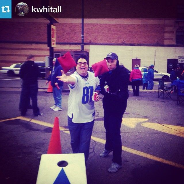 #Repost from @kwhitall with @repostapp --- Corn holing .. If your not tossing a bag you ain't tailgating @nflcanada