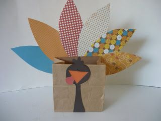 Small Fry & Co.: Easy Turkey Brown Bag Project