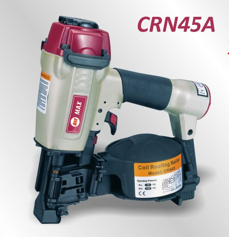 AIR COIL ROOFING NAILER GUN CRN45A (not Include The Custom Tax)   Compare  Best