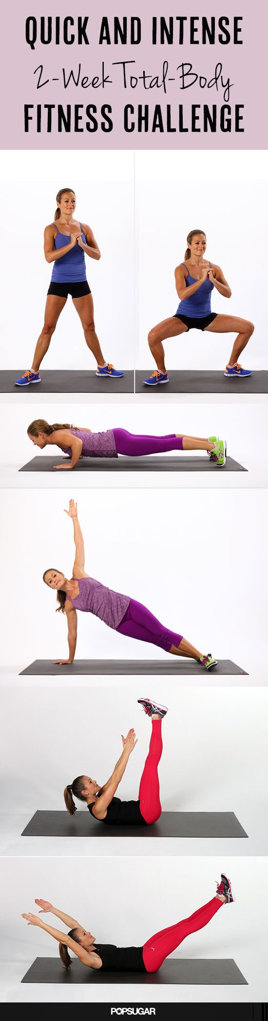 Quick and Intense 2-Week Total-Body Challenge