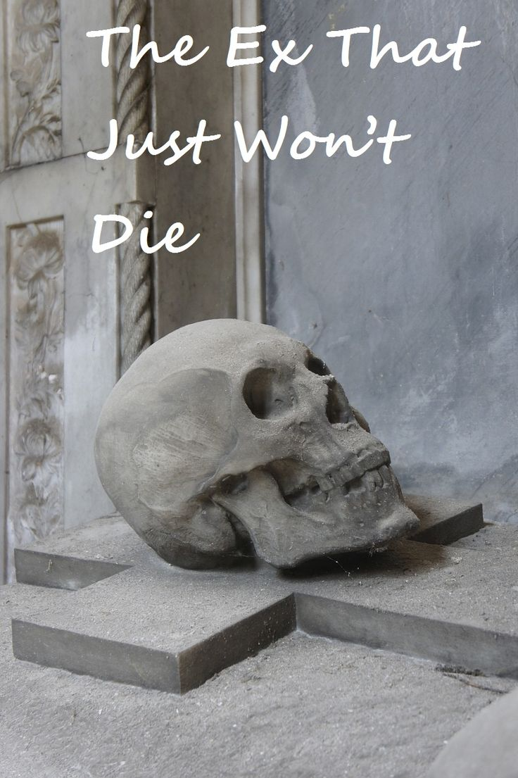 The Ex That Just Won't Die #dating #single #relationships