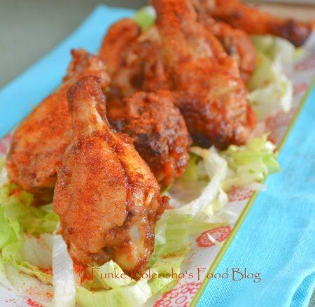 Funke Koleosho's Food Blog: Suya BBQ Wings
