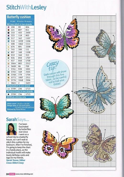 1/2 --mariposas