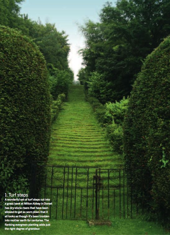 Arne Maynard Garden Design - Milton Abbey, Dorset