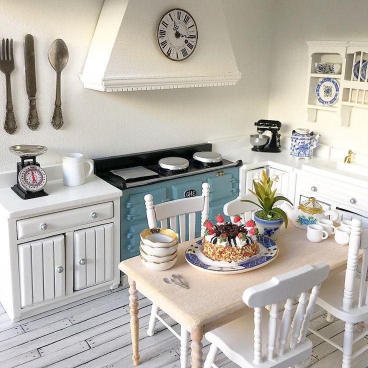 225 Best The Miniature Kitchen Images On Pinterest: 5234 Best Dollhouse Miniatures Images On Pinterest