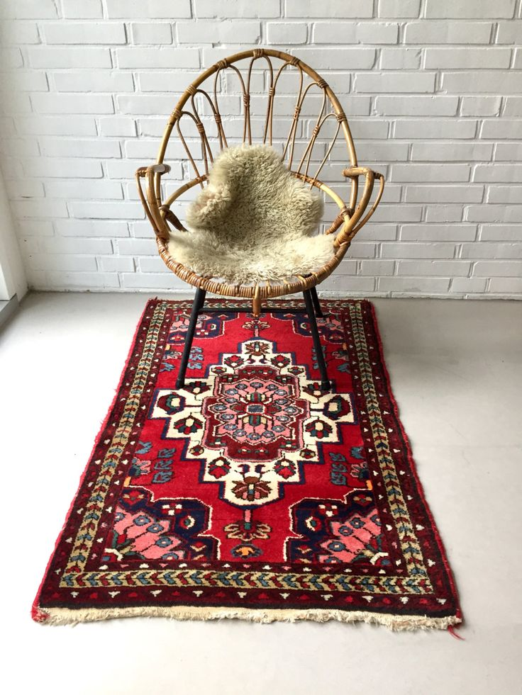 Vintage Teppich, Perserteppich, Orient Teppich, Läufer, antiker Teppich, Vintage Interiour von moovi auf Etsy
