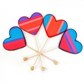 Heart lollipop set #gotidbits