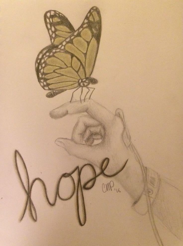 Childhood cancer awareness. (Sketched by a survivor)
