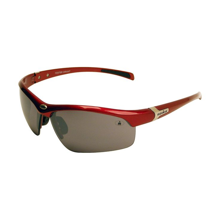 Men's Ironman Sunglasses - Red