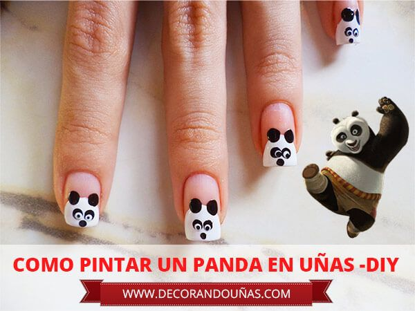Uñas decoradas con animalitos | UÑAS DECORADAS - NAIL ART