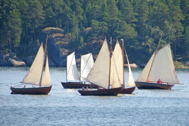 Traditional achipelago boats