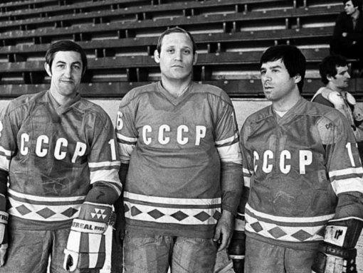 Mikhailov, petrov and kharlamov