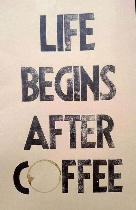 """vida e caffè"" is portuguese for ""life and coffee"" with vida you get #life #coffee"