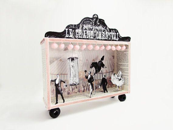 Shadow box diorama frame
