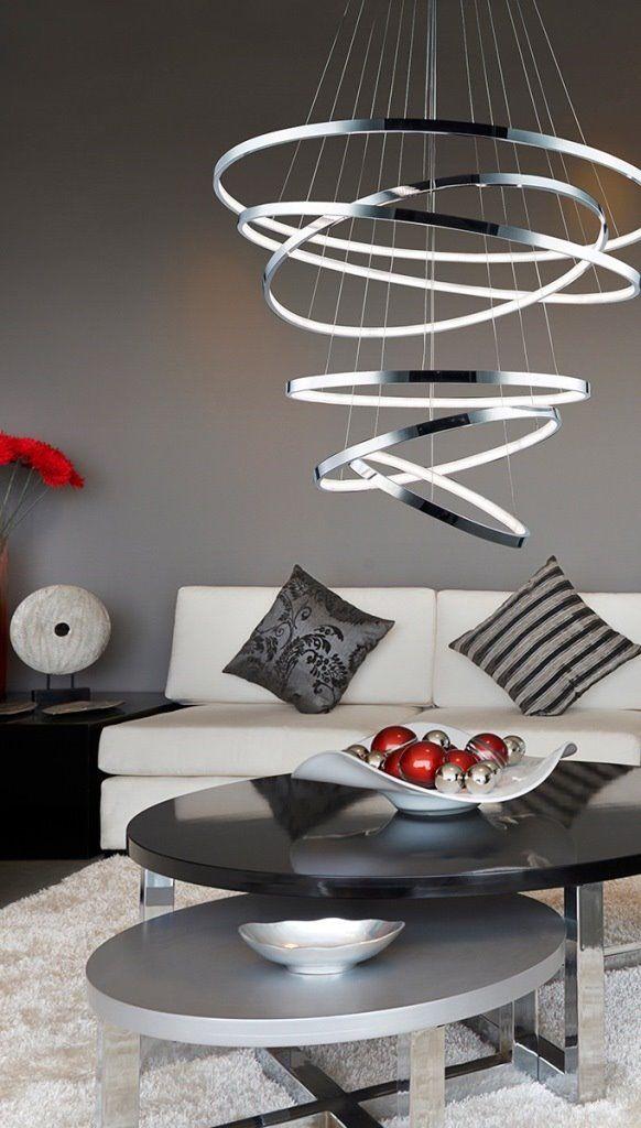 Azzardo Lampa wisząca LED Wheel 6 - MP57011-6A : Sklep internetowy Elektromag Lighting #modern #lighting #oświetlenie #homedesign #interiors