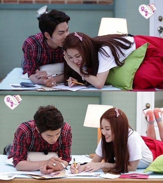 'We Got Married 4' Hong Jong Hyun & Yura Share Endless Laughter Trying To Fill Out Marriage Paperwork http://www.kpopstarz.com/articles/100088/20140720/we-got-married-4-hong-jong-hyun-and-yoora-share-endless-laughter-trying-to-fill-out-marriage-paperwork.htm