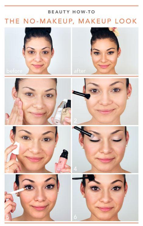 Beauty How-To : the no-makeup, MAKEUP LOOK!, MAKEUP LOOK!