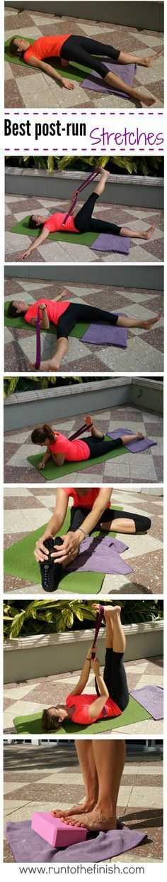 Best post run stretches for IT Band and Hips - Back to basics   Run to the Finish   Bloglovin'
